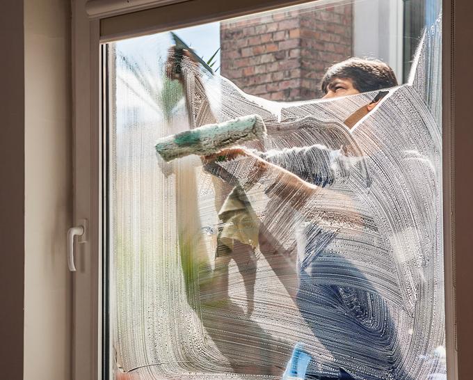 Glas- und Fensterreinigung